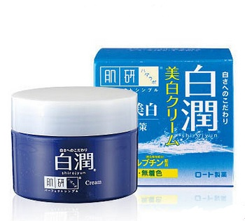 Kem Rohto Hadalabo Shirojun Medicated Whitening Cream 50g