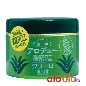 Kem dưỡng ẩm tinh chất lô hội naris alodew mild của Nhật