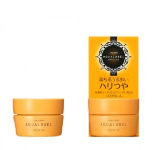 Kem dưỡng Shiseido Aqualabel Cream EX màu vàng 30g Nhật Bản
