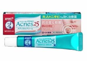 Kem trị mụn Rohto Acnes 25 Nhật Bản