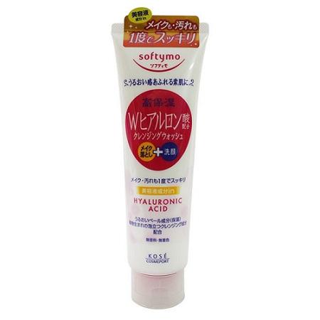 Sữa rửa mặt Kose Softymo Hyaluronic Acid 190g Nhật Bản