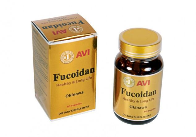 Viên uống Avi fucoidan hộp 60 viên 500mg chính hãng USA