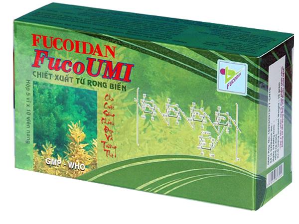 Fucoidan FucoUMI chiết xuất từ rong biển xuất xứ Việt Nam