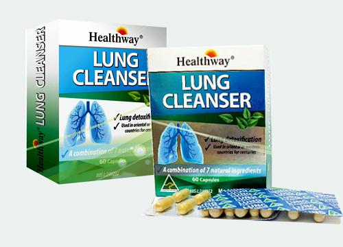 lung cleanser hộp 60 viên