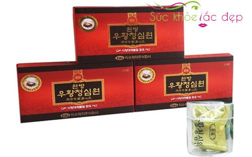 An Cung Ngưu Hoàng Hoàn Hàn Quốc Ksu