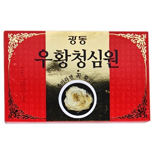 An Cung Ngưu Hoàng Hoàn Màu Đỏ Hàn Quốc Phòng chống đột quỵ