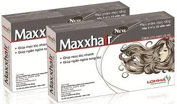 Viên uống Maxxhair hỗ trợ mọc tóc, giảm rụng tóc hiệu quả