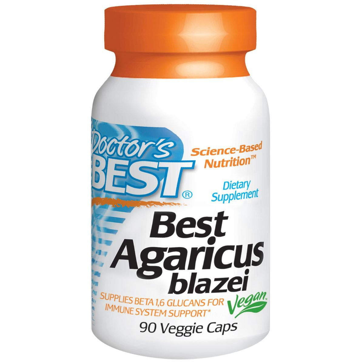 Viên uống Best Agaricus Blazei bổ sung dưỡng chất giúp tăng cường sức khỏe của hãng Doctor's Best từ