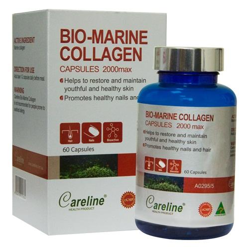 Viên uống đẹp da Bio-Marine Collagen Careline hộp 100 viên