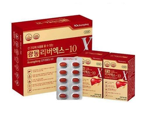 viên bổ gan giải độc kwangdong