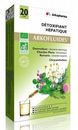 Nước thải độc gan Arkopharma Detoxifiant Hepatique