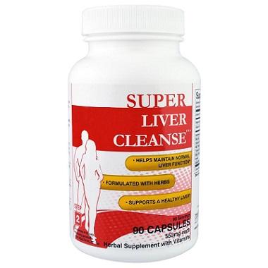 Viên uống giải độc gan Super Liver Cleanse