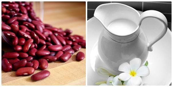 Dưỡng trắng da bằng bột đậu đỏ an toàn, hiệu quả ít người biết