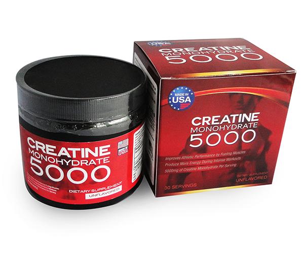 Bột dinh dưỡng tăng cân tăng cơ Creatine Monohydrate 5000