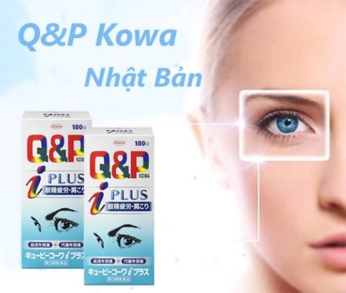 Công dụng của viên uống bổ mắt Q&P Kowa