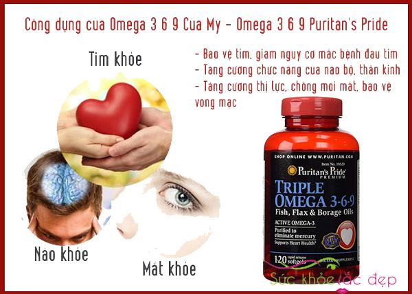 Triple Omega 3 6 9 Puritan's Pride