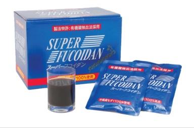 Dạng nước Super Fucoidan nhật 30 gói/thùng hỗ trợ điều trị ung thư