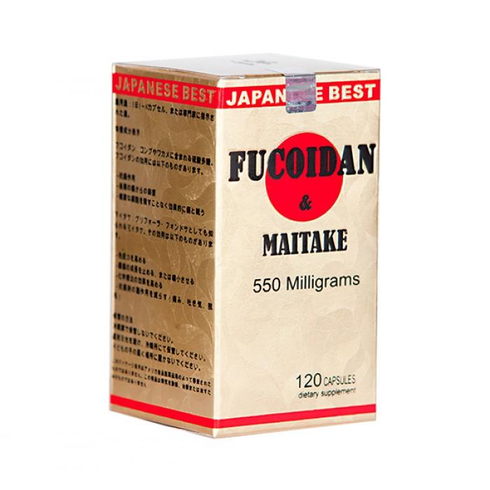 Fucoidan maitake hộp 120 viên ngăn chặn di căn tế bào ung thư