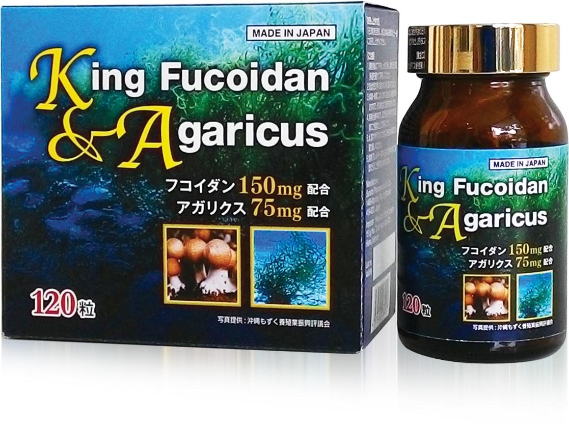 Viên uống King fucoidan agaricus không chỉ là hỗ trợ điều trị ung thư