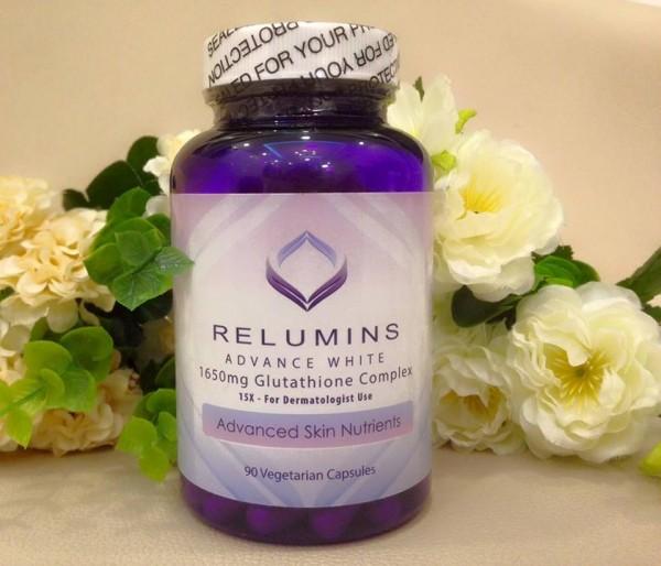 viên uống trắng da Relumins Glutathione