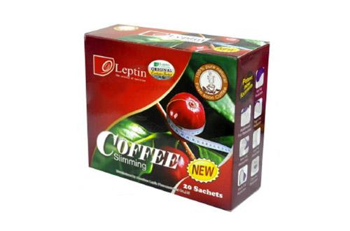 Giảm cân an toàn với Slimming Coffee dạng gói