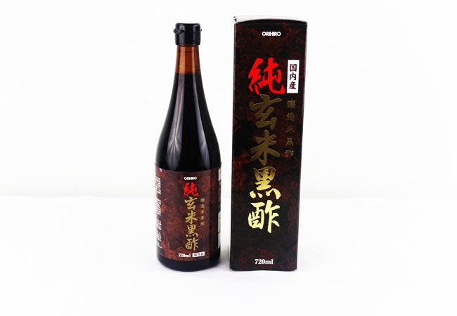 Giảm cân cùng Dấm đen gạo lức Nhật Bản Orihiro