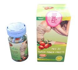 Giảm cân không khó với Meizi Super power fruits
