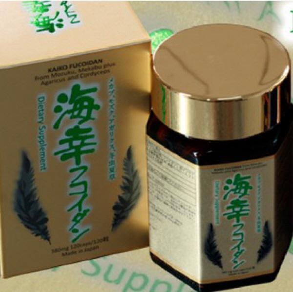 Kaiko Fucoidan Hỗ Trợ Điều Trị Và Chữa Bệnh Ung Thư loại 120viên/hộp
