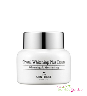 kem dưỡng the skin house crystal whitening plus cream
