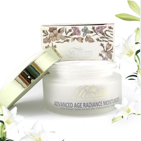 Kem rosanna advanced age radiance dưỡng trắng da và chống lão hóa hiệu quả