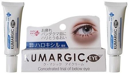 Kem trị thâm quầng mắt Kumargic Eye 20g Nhật Bản