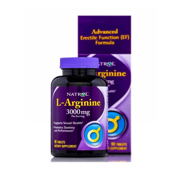 L-Arginine 3000 mg cải thiện sinh lý phái mạnh