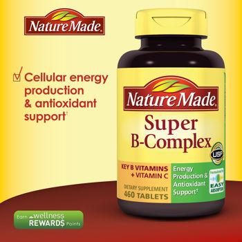 Kết quả hình ảnh cho Vitamin B-complex C Nature Made