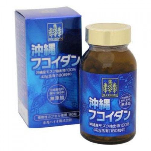 Okinawa Fucoidan dạng viên nhật bản ( hàng nhập khẩu )