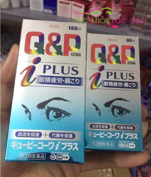 Review Viên Uống Bổ Mắt Q&P Kowa Nhật Bản 180 Viên Từ Người Sử Dụng
