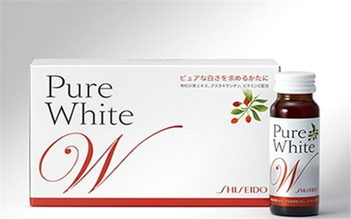 collagen shiseido pure white