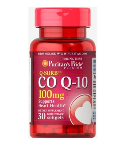 q-sorb co q10 100mg puritan's pride 30 viên