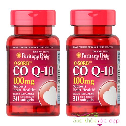 Q-Sorb Co Q10 100mg