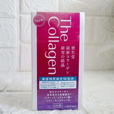 shiseido collagen dạng viên