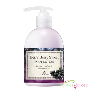 sữa dưỡng thể the skin house berry berry sweet body lotion