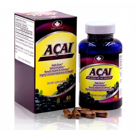 Tác dụng của viên uống Acai chống lão hóa của Mỹ có tốt không?