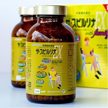 Tác dụng của tảo vàng Spirulina Nhật Bản