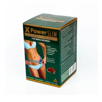 Tạm biệt cân nặng quá khổ với X-power Slim Golden Health