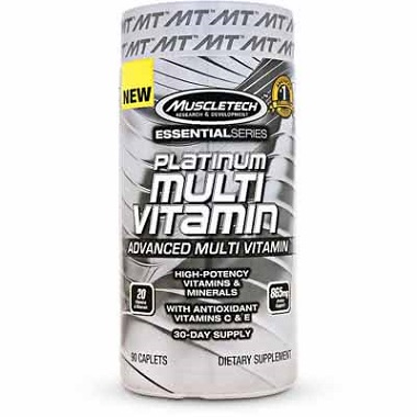 Platinum Multivitamin Muscletech 90 viên