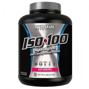 Sữa tăng cơ Iso 100 Whey Protein Dymatize 5lbs