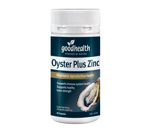 Oyster plus good health