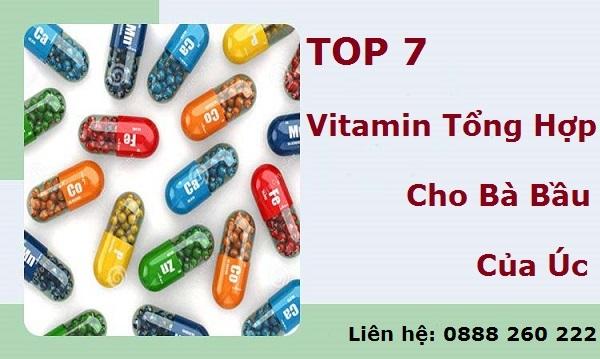 Top 7 vitamin tổng hợp cho bà bầu của Úc được ưa chuộng