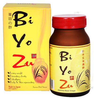 Viên giấm đen Biyozu bí quyết giảm cân không khó từ người Nhật