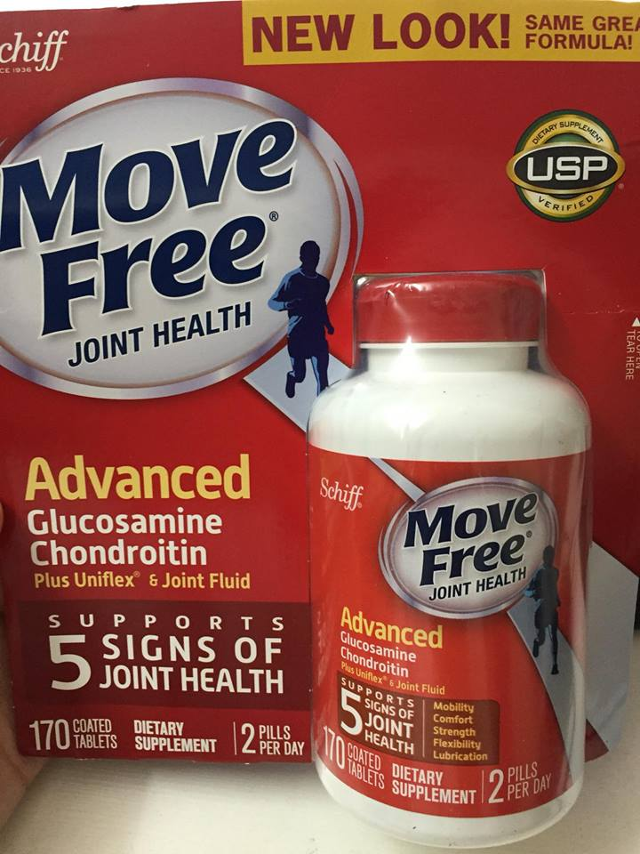 Viên hỗ trợ giảm đau nhức khớp - Schiff Move Free Advanced Triple Strength hộp 170 viên