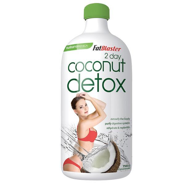 Detox Coconut thức uống giảm cân giải quyết cân nặng